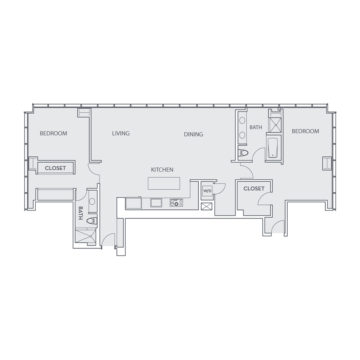 Apartment 1702 floor plan